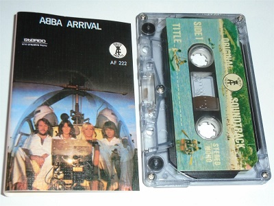 Abba - Arrival Cassette Tape Quality Cassette AF222 STEREO Clear Shell