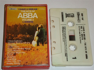 Abba - I Have A Dream - The Hits Of ABBA Volume 2 Cassette Tape CHEVRON CHV186 Stereo