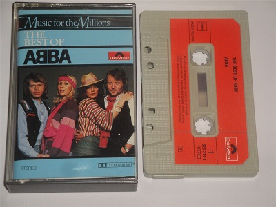 Abba - The Best of Cassette Tape Music For The Millions Series 8233144