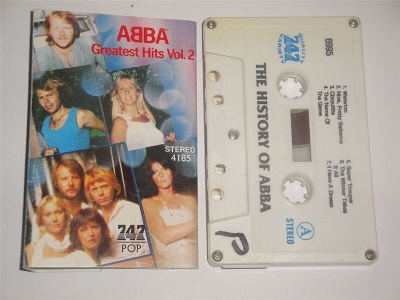 Abba - The Greatest Hits Volume 2 Cassette Tape 747 POP STEREO4185