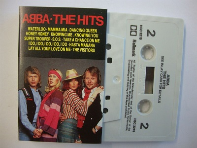 Abba - The Hits - Cassette Tape