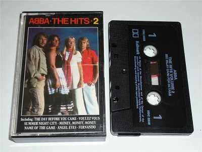 Abba - The Hits Volume 2 - 14 Greatest Hits Cassette Tape