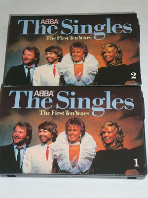 Abba - The Singles - First Ten Years Cassette Tape 1 and 2 Set