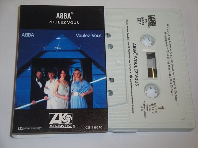 Abba - Voulez Vous - CS16000 Cassette Tape Atlantic Made in USA White Shell