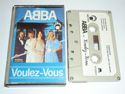 Abba - Voulez Vous Cassette Tape IMD6326 White Paper Label Stereo