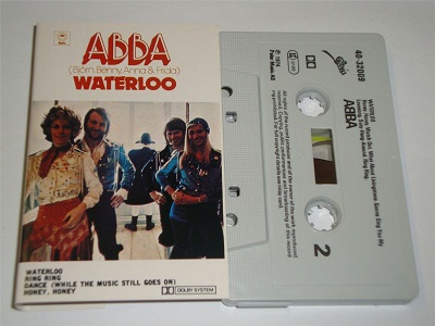 Abba - Waterloo EPC4032009 Cassette Tape Made In The USA