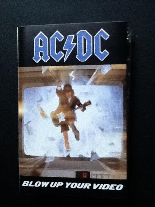 ACDC Blow Up Your Video UK EU Cassette