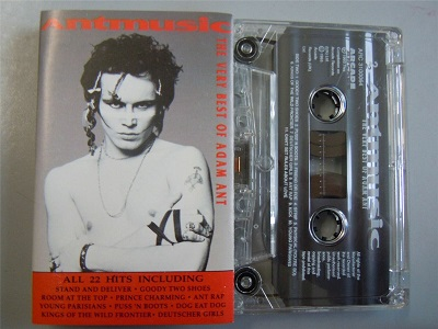 ADAM ANT - Antmusic The Very Best Of Cassette Tape