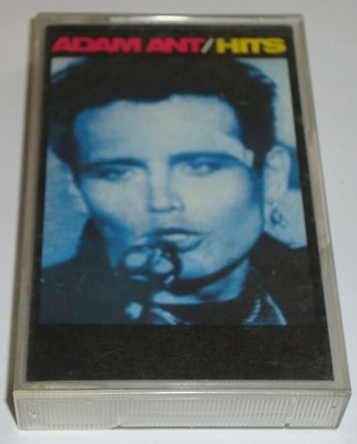 ADAM ANT - The Greatest Hits Cassette Tape