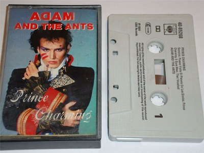 ADAM AND THE ANTS  - Prince Charming Cassette Tape White Shell 4085268