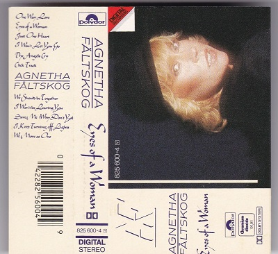 AGNETHA FÄLTSKOG - EYES OF A WOMAN MC POLYDOR © 1985 WEST GERMANY TAPE KASSETTE