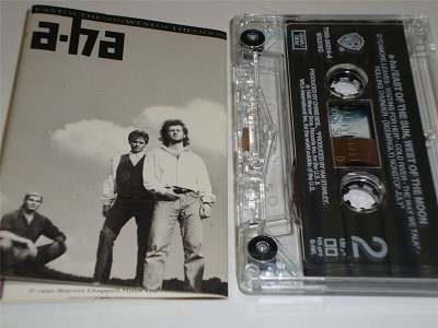 A-HA - East Of The Sun West Of The Moon - Cassette Tape Aha