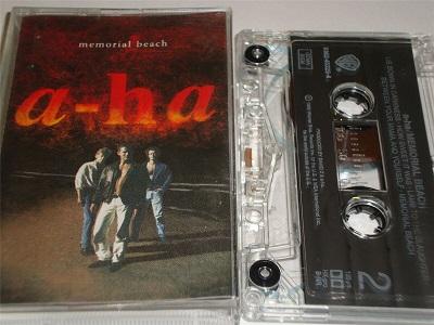 A-HA - Memorial Beach - Cassette Tape