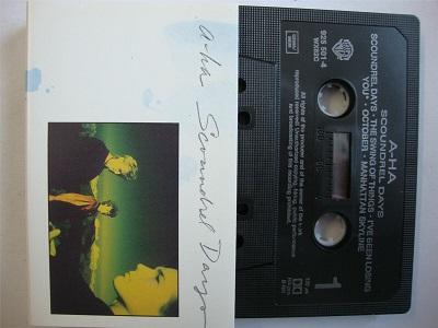 A-HA - Scoundrel Days Cassette Tape Aha