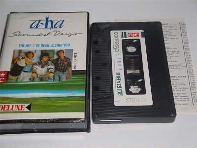 A-HA - Scoundrel Days Cassette Tape Made In Indonesia