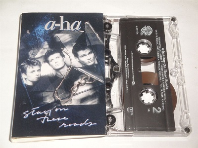 A-HA - Stay On These Roads Cassette Tape