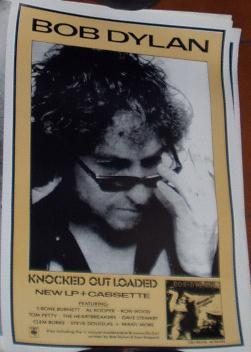 Bob Dylan Knocked Out Loaded poster