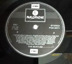 The Beatles Help! 1980s Pressing Vinyl LP. UK. PCS 3071. 1980s.