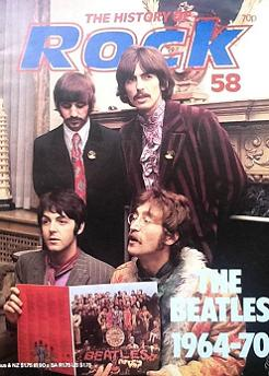 The Beatles 1964-70 - History of Rock, Issue 58 Magazine. UK. 1982.