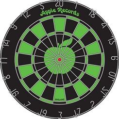 beatles dartboard