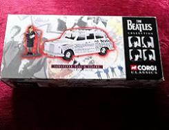 The Beatles Rita Meter Maid and Newspaper Taxi Corgi Toy