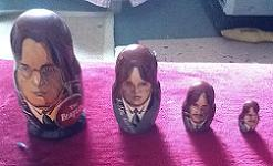 The Beatles Russian Nesting Doll Set.