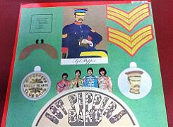 The Beatles Sgt. Pepper's Lonely Hearts Club Band 1989 Vinyl LP