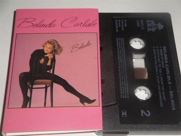 Belinda Carlisle - Belinda MIRLC1505 Cassette Tape Black Shell