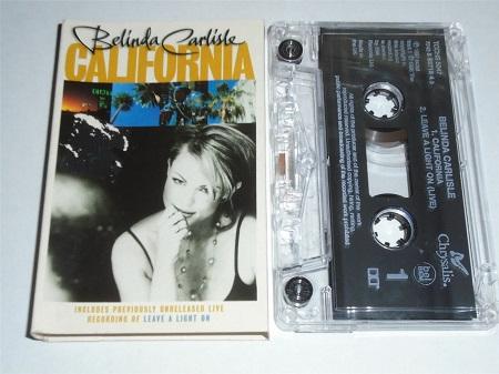 Belinda Carlisle - California - Single Cassette Tape
