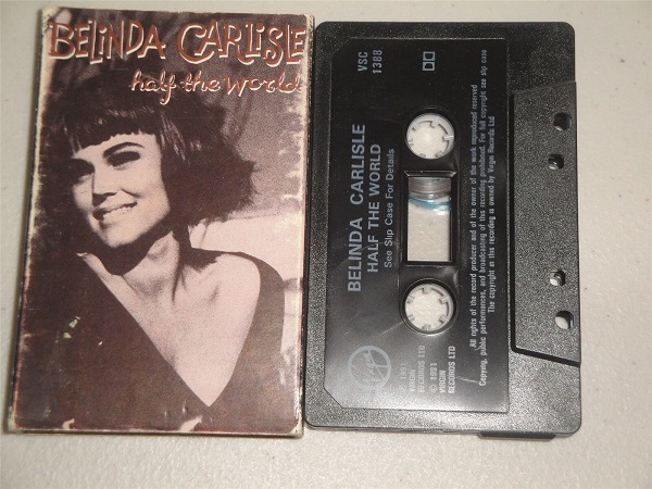 Belinda Carlisle - Half The World - VSC 1388 - Cassette Tape