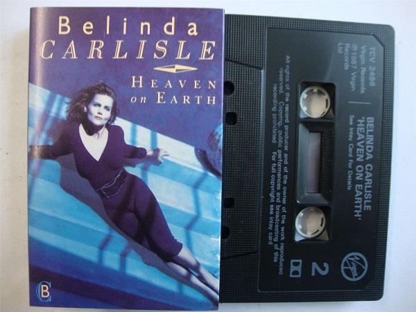 Belinda Carlisle - Heaven On Earth - Cassette Tape