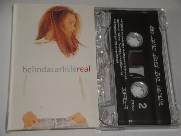 Belinda Carlisle - Real Cassette Tape