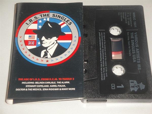 IRS The Singles Belinda Carlisle Alarm REM Cassette Tape MIRLC1501