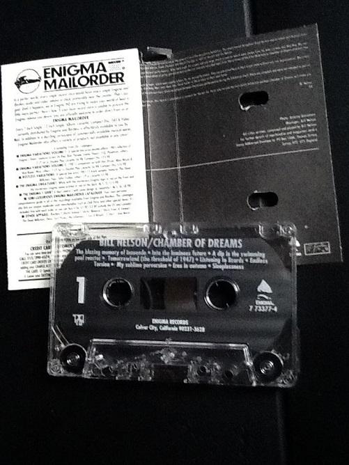Bill Nelson Chamber Of Dreams US Cassette