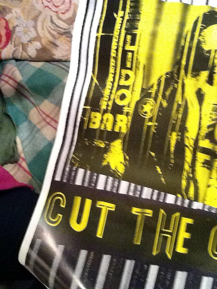 The Clash Cut the Crap poster