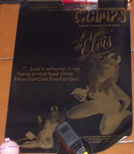 Cramps A Date with Elvis poster