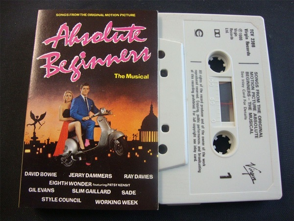 Absolute Beginners - Musical Cassette Tape Soundtrack David Bowie