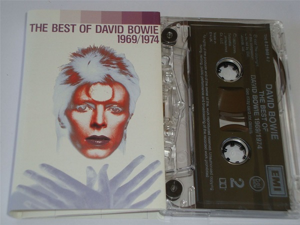 David Bowie - The Best Of - 1969-1974 Cassette Tape
