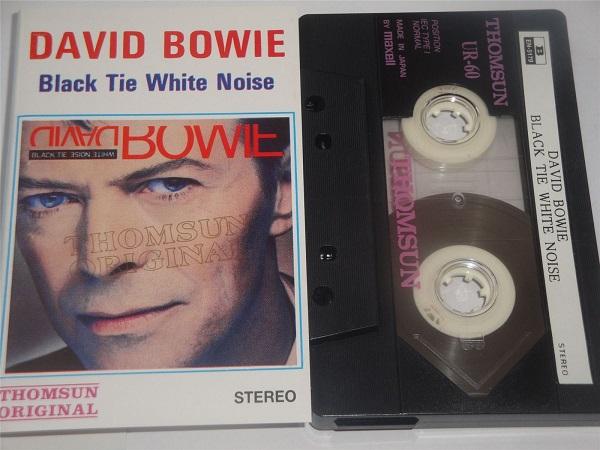 David Bowie - Black Tie White Noise Thomsun Original Cassette Tape