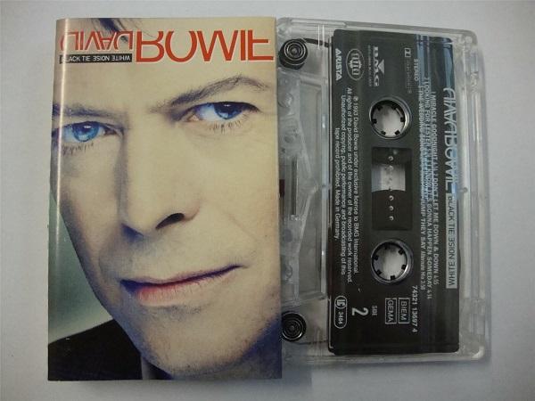 David Bowie - Black Tie White Noise Cassette Tape