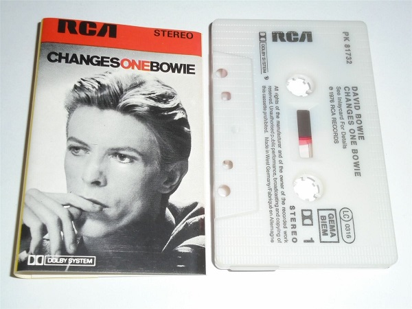 David Bowie - Changes One RCA Stereo West Germany PK81732 Cassette Tape