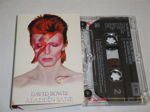 David Bowie - Aladdin Sane - TCEMC3579 Cassette Tape Clear Shell