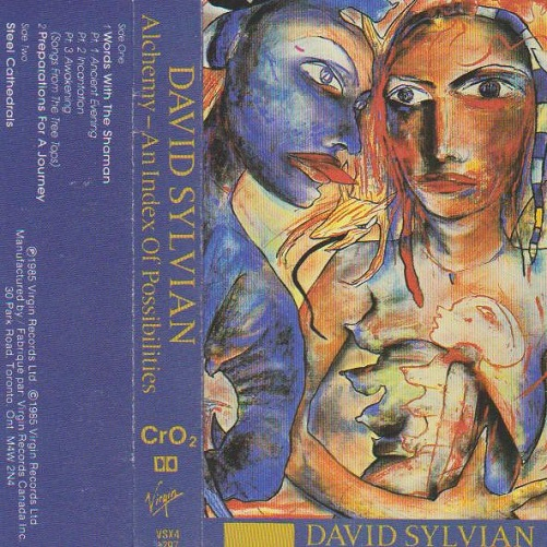 David Sylvian Alchemy - An Index Of Possibilities Canada Cassette