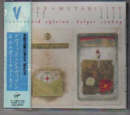David Sylvian • Holger Czukay Flux + Mutability CD, Album, Promo Japan