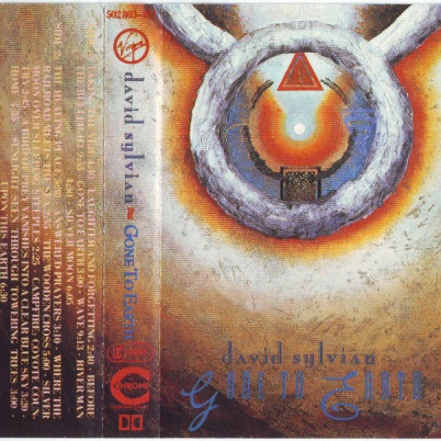 David Sylvian Gone To Earth Europe Cassette