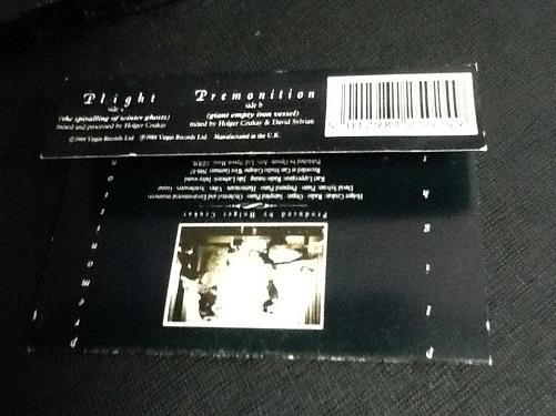 David Sylvian + Holger Czukay Plight & Premonition UK Cassette