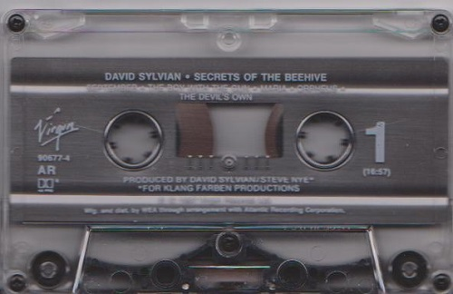 David Sylvian Secrets Of The Beehive US Cassette