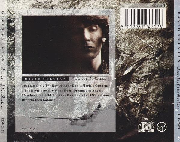 David Sylvian Secrets Of The Beehive CD, Album, Reissue, Remastered (2006) + postcards
