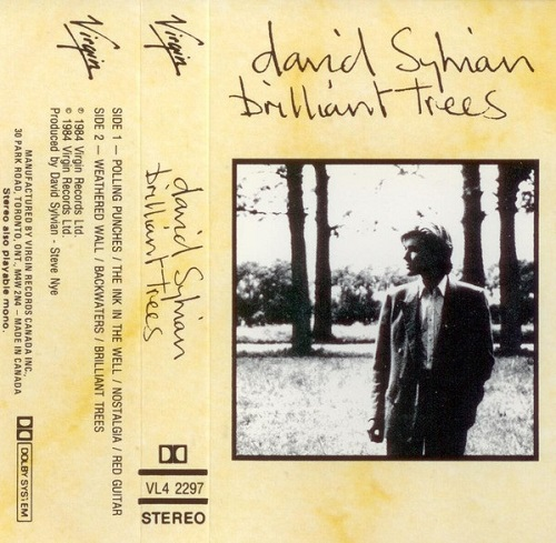 David Sylvian Brilliant Trees Reissue Canada Cassette