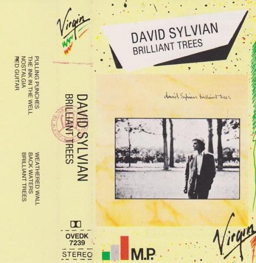 David Sylvian Brilliant Trees Reissue Italy Cassette